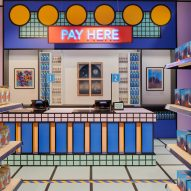 Camille Walala creates pop-up Supermarket food store at the Design Museum