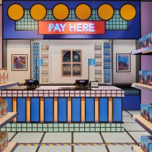 Camille Walala Supermarket pop-up shop