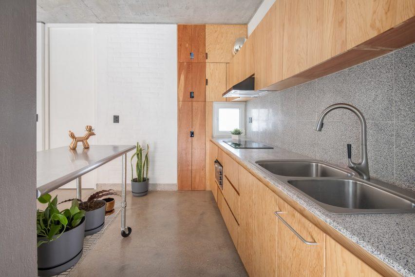 Sustainable materials are used in Casa Bosque Sereno