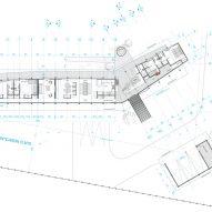 Floor plan Casa Tobita in Lago Ranco Chile
