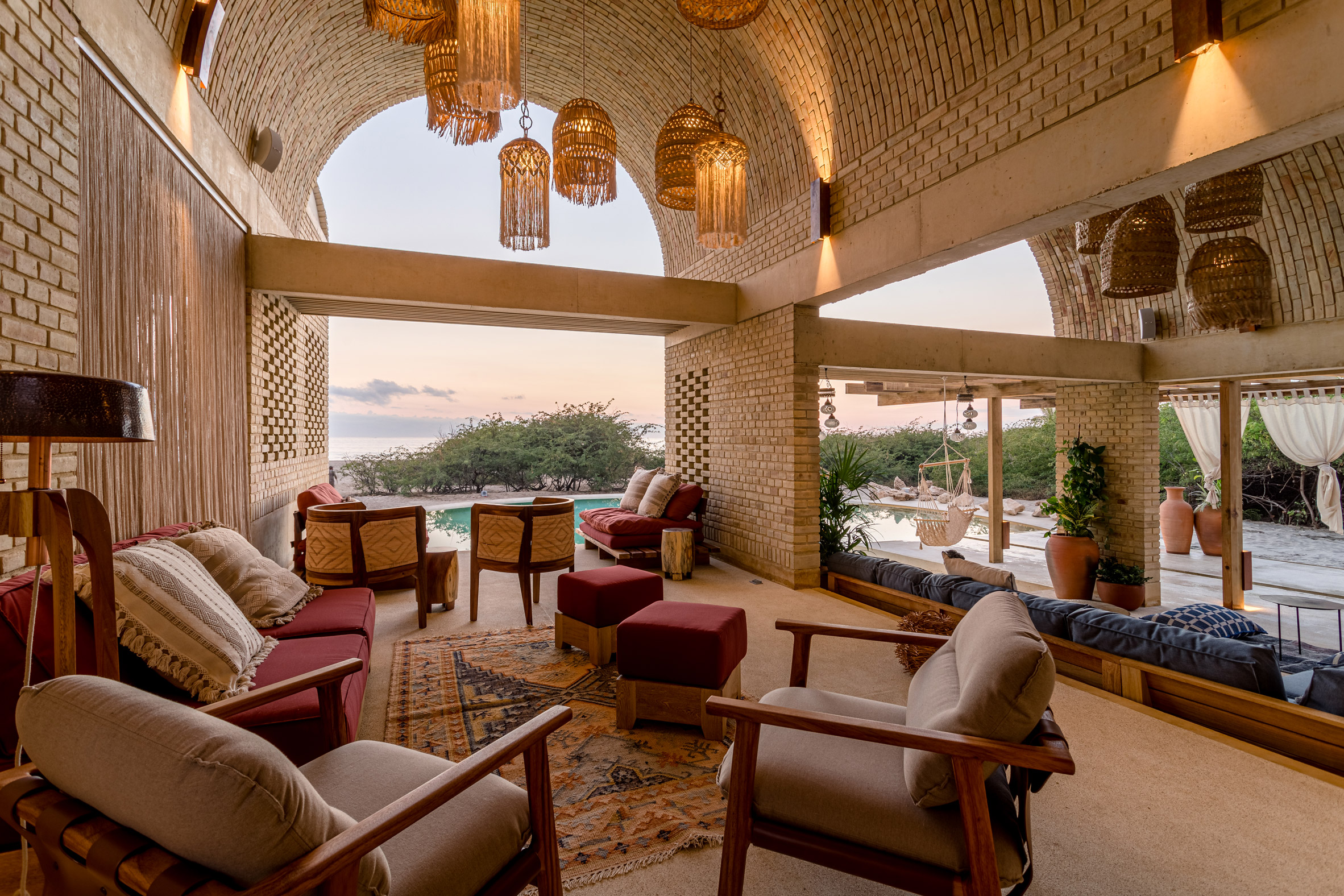 Alberto Kalach designed the hotel