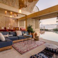 Alberto Kalach has designed a vaulted brick hotel in Oaxaca