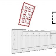 Third floor plan of Cusanus Academy renovation by MoDus Architects
