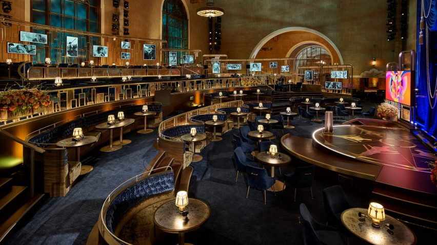 David Rockwell's Oscars set