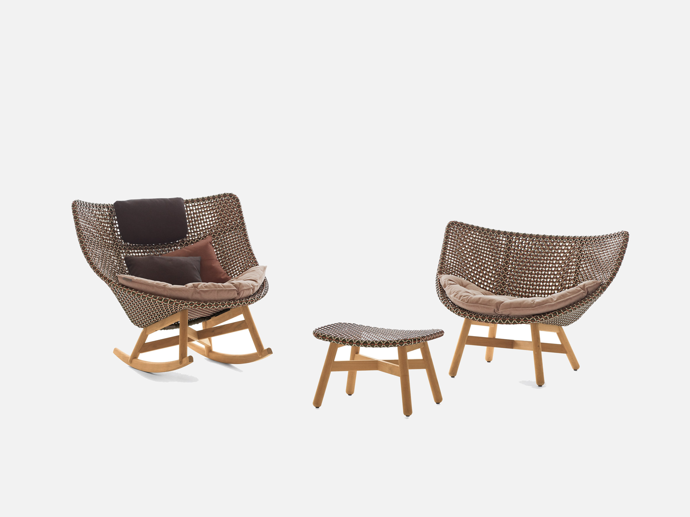 MBRACE chairs by Sebastian Herkner for Dedon