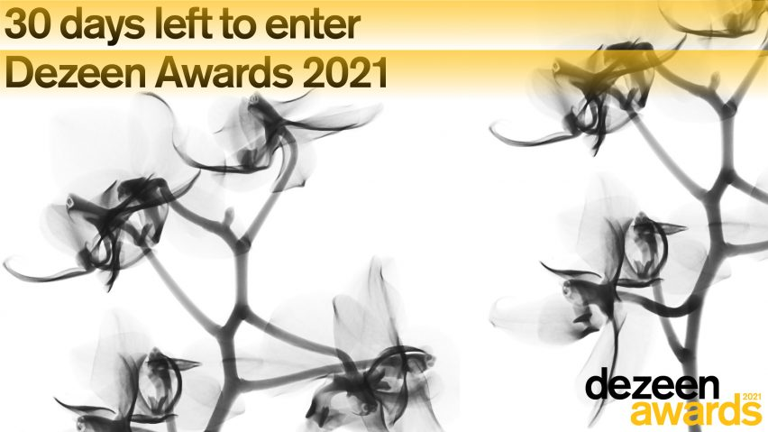 Dezeen Awards 2021 30 days left to enter