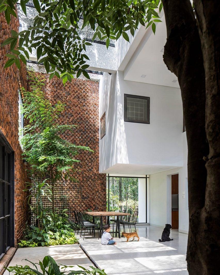 Wall House in Bien Hoa, Vietnam, by CTA