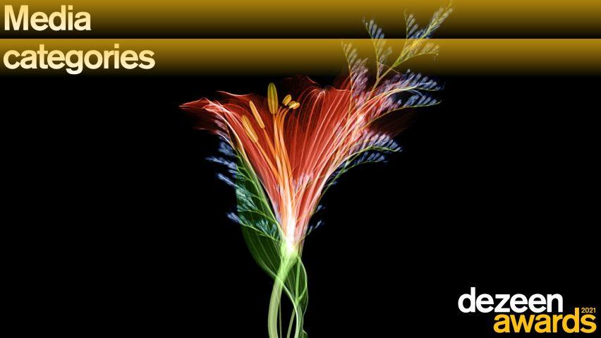 Dezeen Awards 2021 media categories