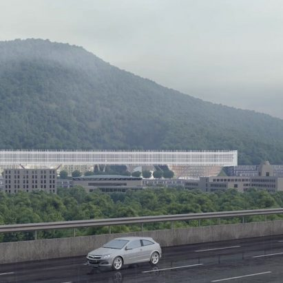 Shenzhen Institute of Design and Innovation by Dominique Perrault Architects and Zhubo Design