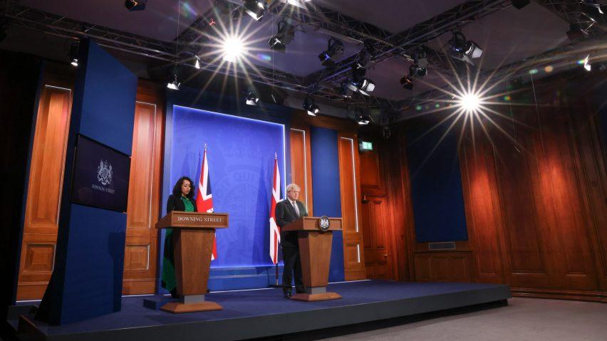 Downing Street media briefing room