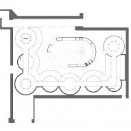 Plan of the exhibition space