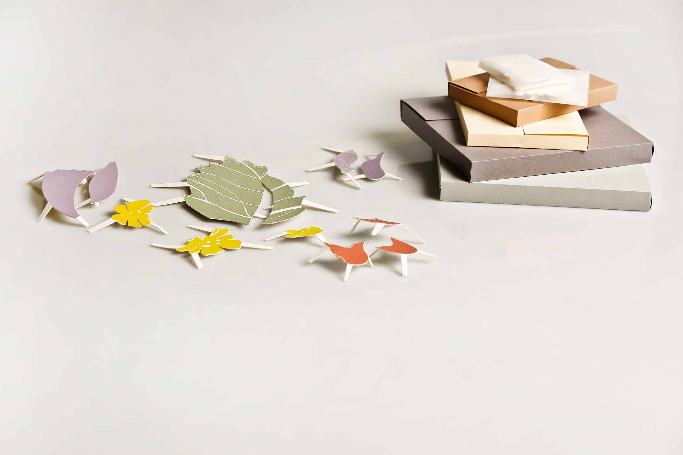 Home Pharmacy is composed of several cutouts and a wall hanging