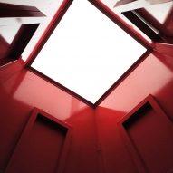 A skylight in the En Passant pavilion