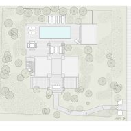Plans for Fire Island House by Andrew Franz