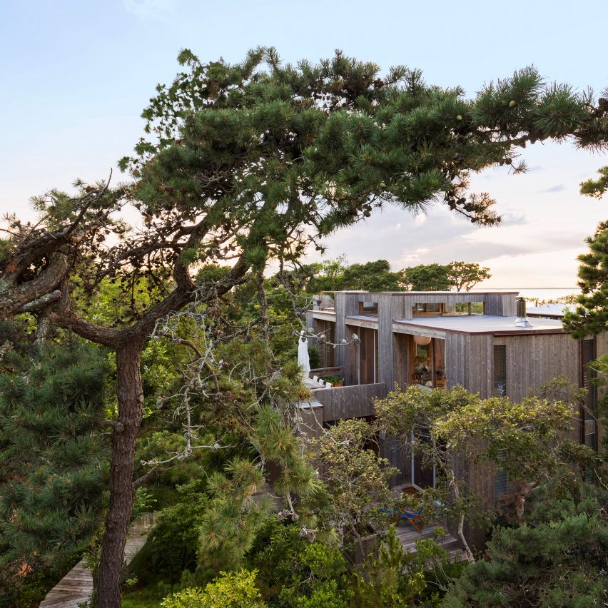 Fire Island House by Andrew Franz
