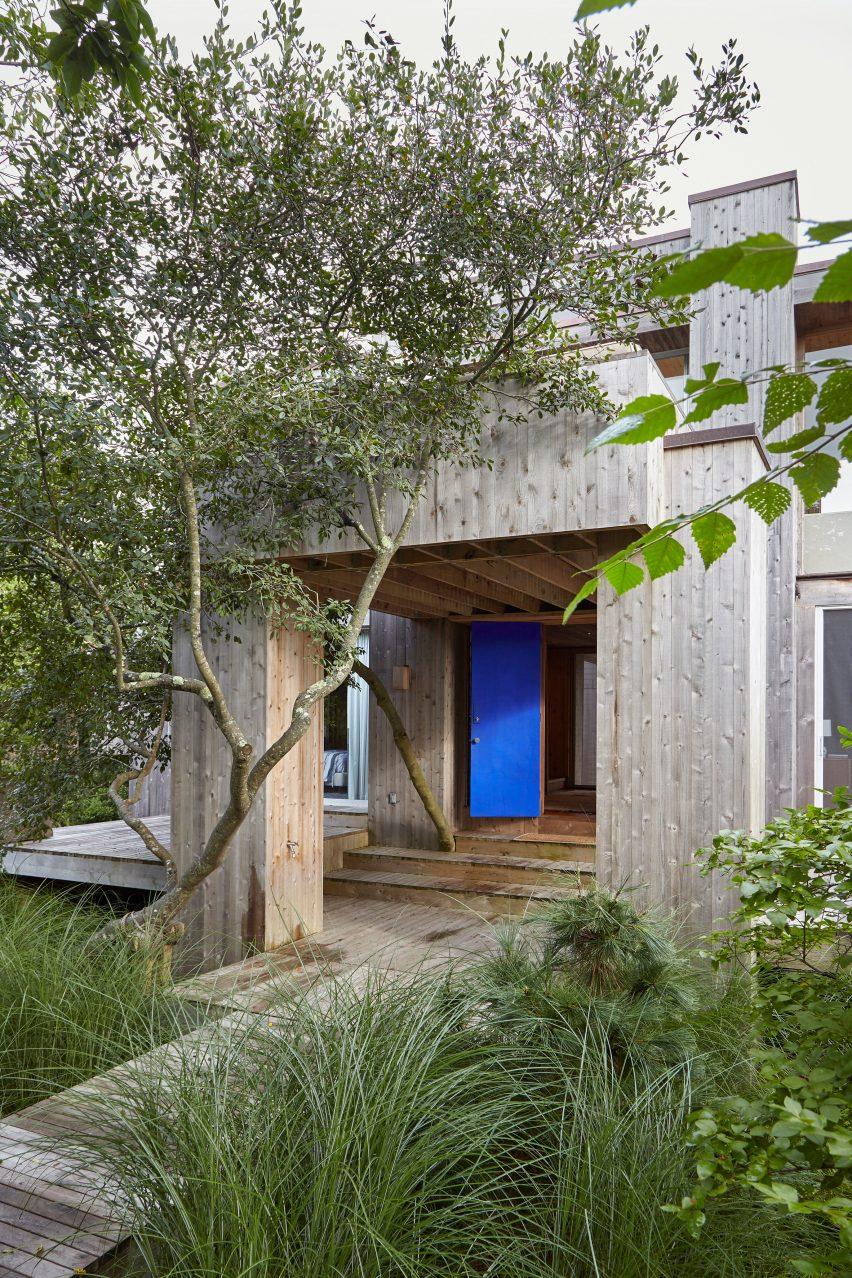 Fire Island House on Fire Island is clad in cedar