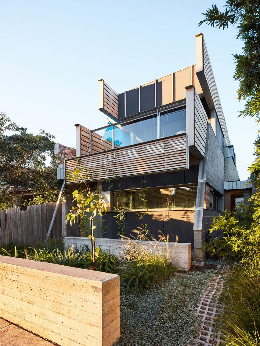 Exterior of Fleming Park House by Cloud Architecture Studio