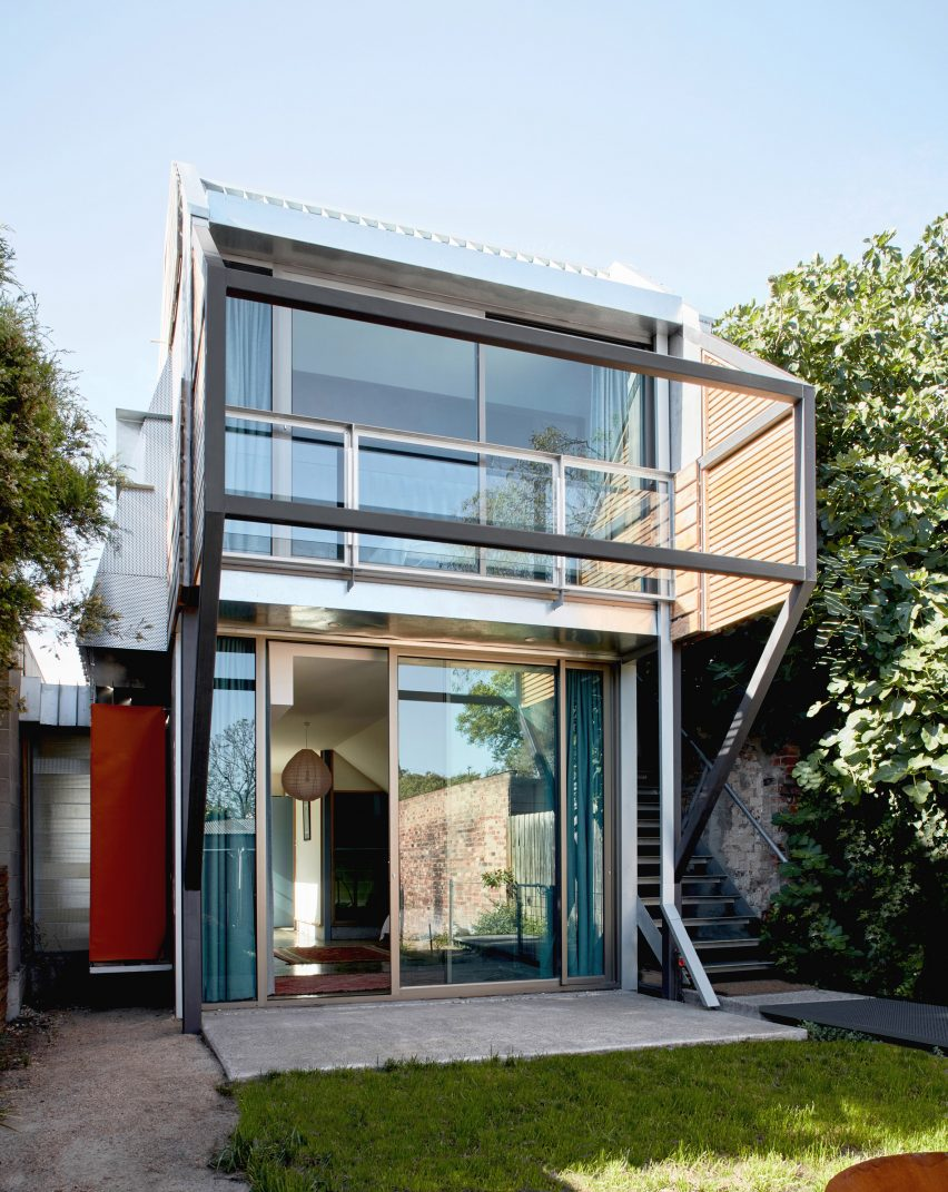 Rear of Fleming Park House by Cloud Architecture Studio