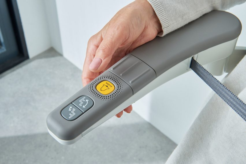 Alarm button on Flow X stairlift