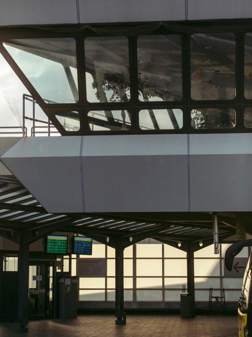 First floor of Tegel airport as photographed by Robert Rieger and Felix Brüggemann