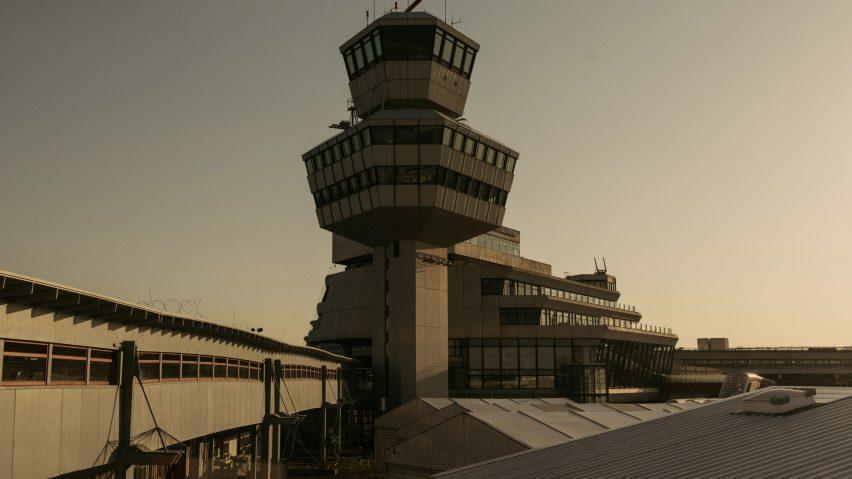 Berlin Tegel airport from photo book by Robert Rieger and Felix Brüggemann