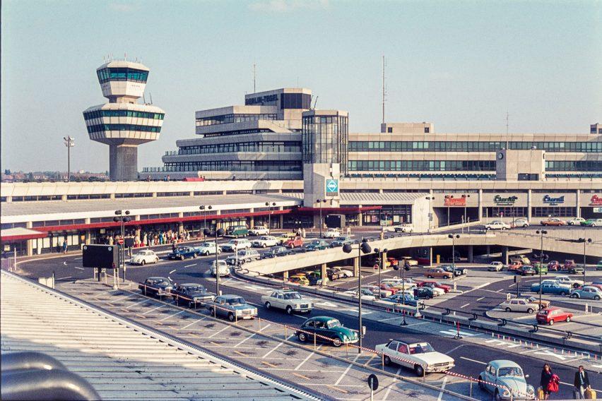 Tegel airport in 1970s