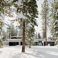 Faulkner Architects tucks Forest House into wooded site near Lake Tahoe