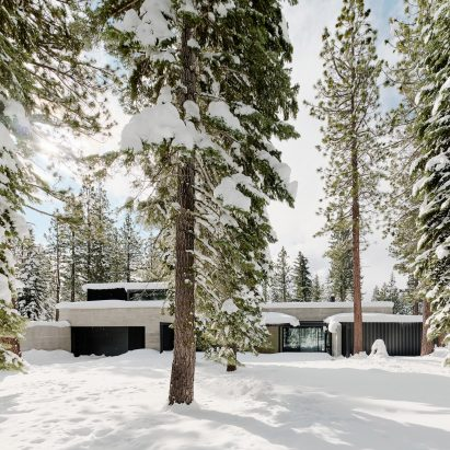 Faulkner Architects designed the house