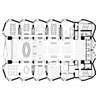 Plans with large meeting rooms