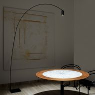 Fox floor lamp by Bernhard Osann for Nemo Lighting