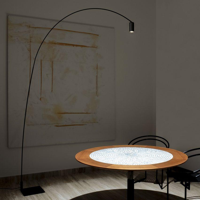 Fox floor lamp by Bernhard Osann for Nemo Lighting