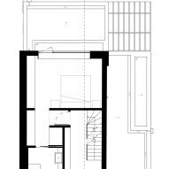The first floor plan of Fruit Box by Nimtim Architects