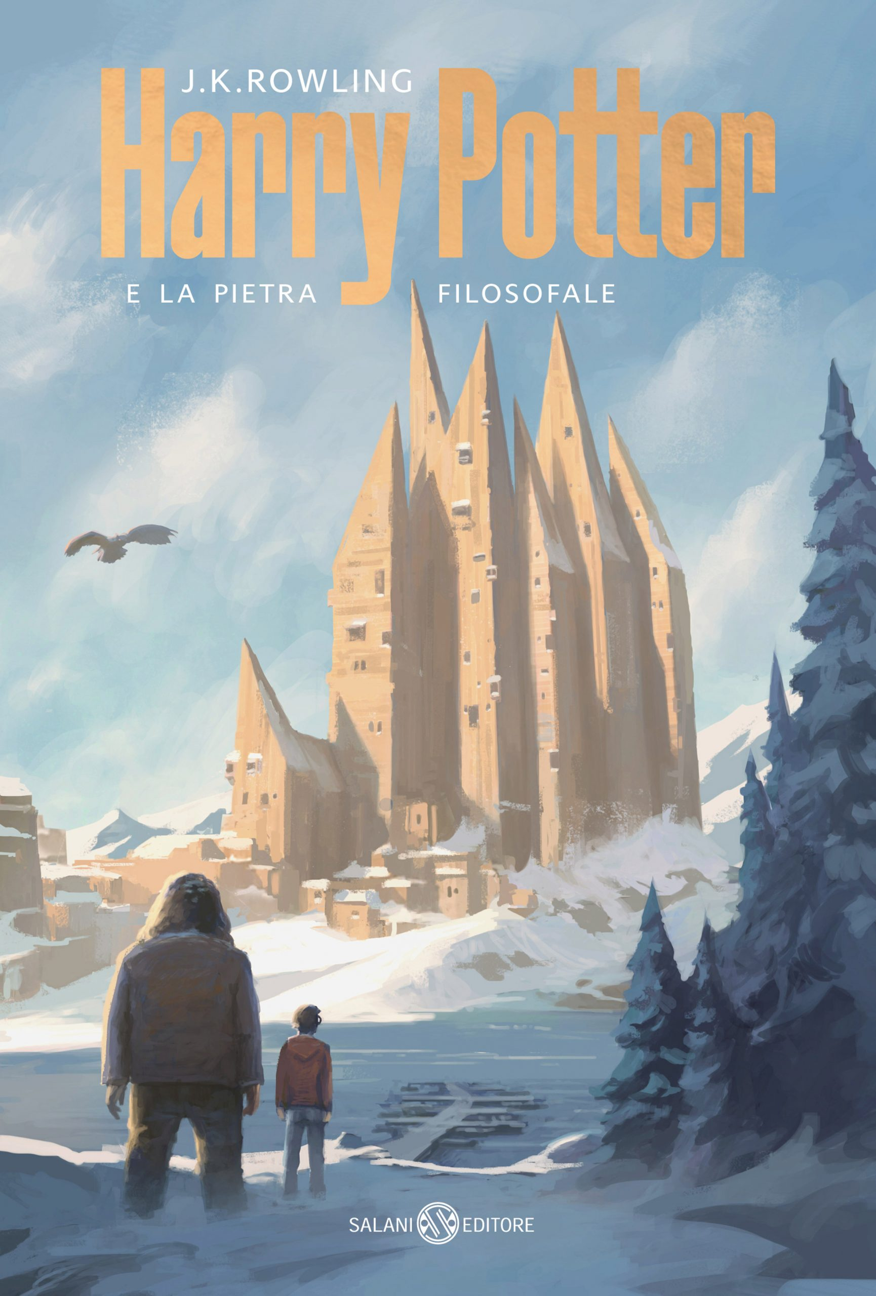 Italian cover of Harry Potter and the Philosopher's Stone designed by Michele De Lucchi