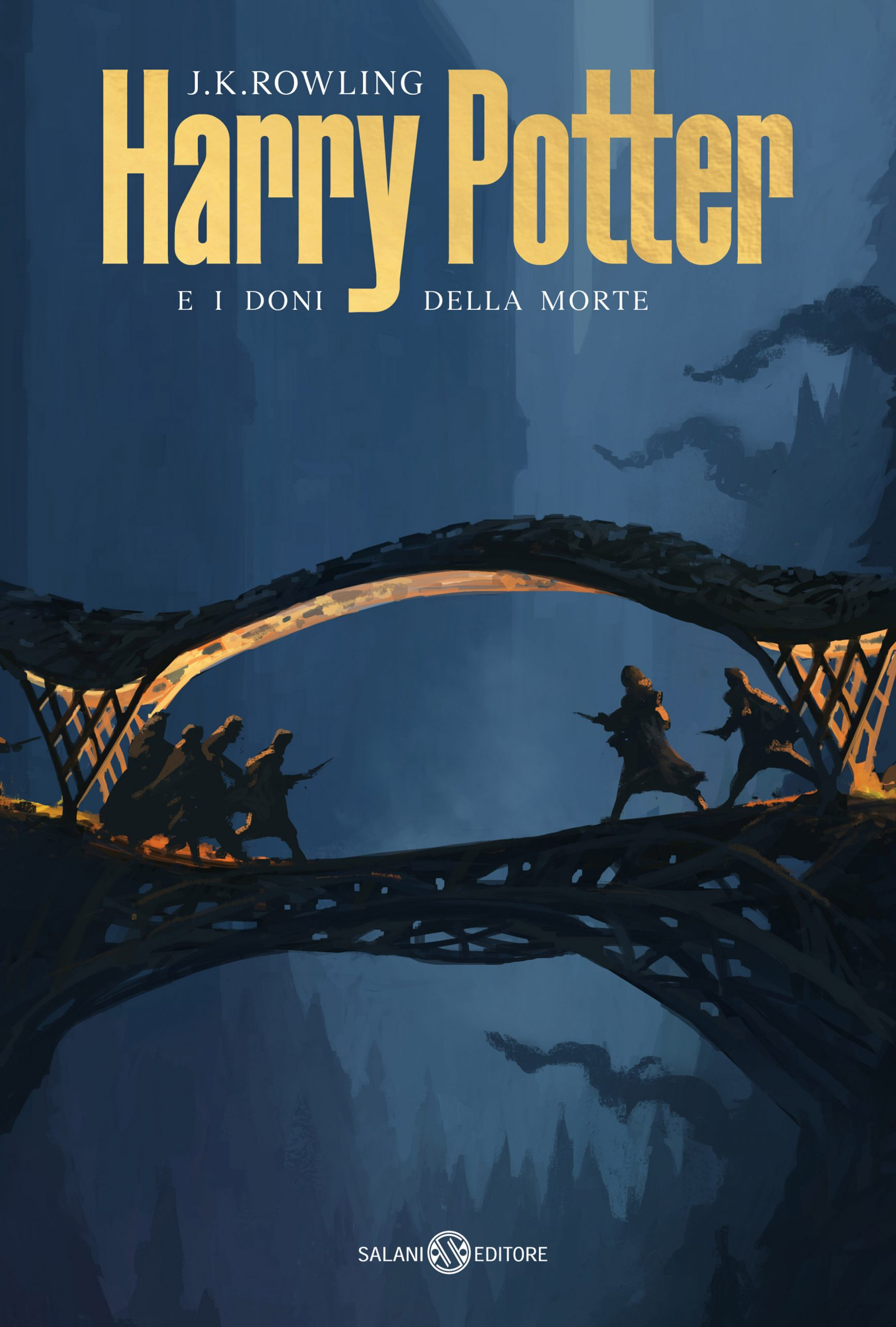 Cover of Harry Potter and the Deathly Hallows designed by Michele De Lucchi