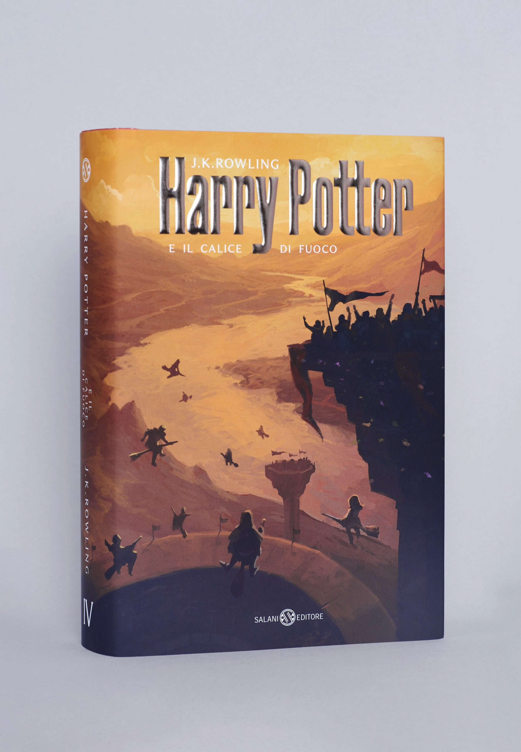 Italian cover of the Goblet of Fire