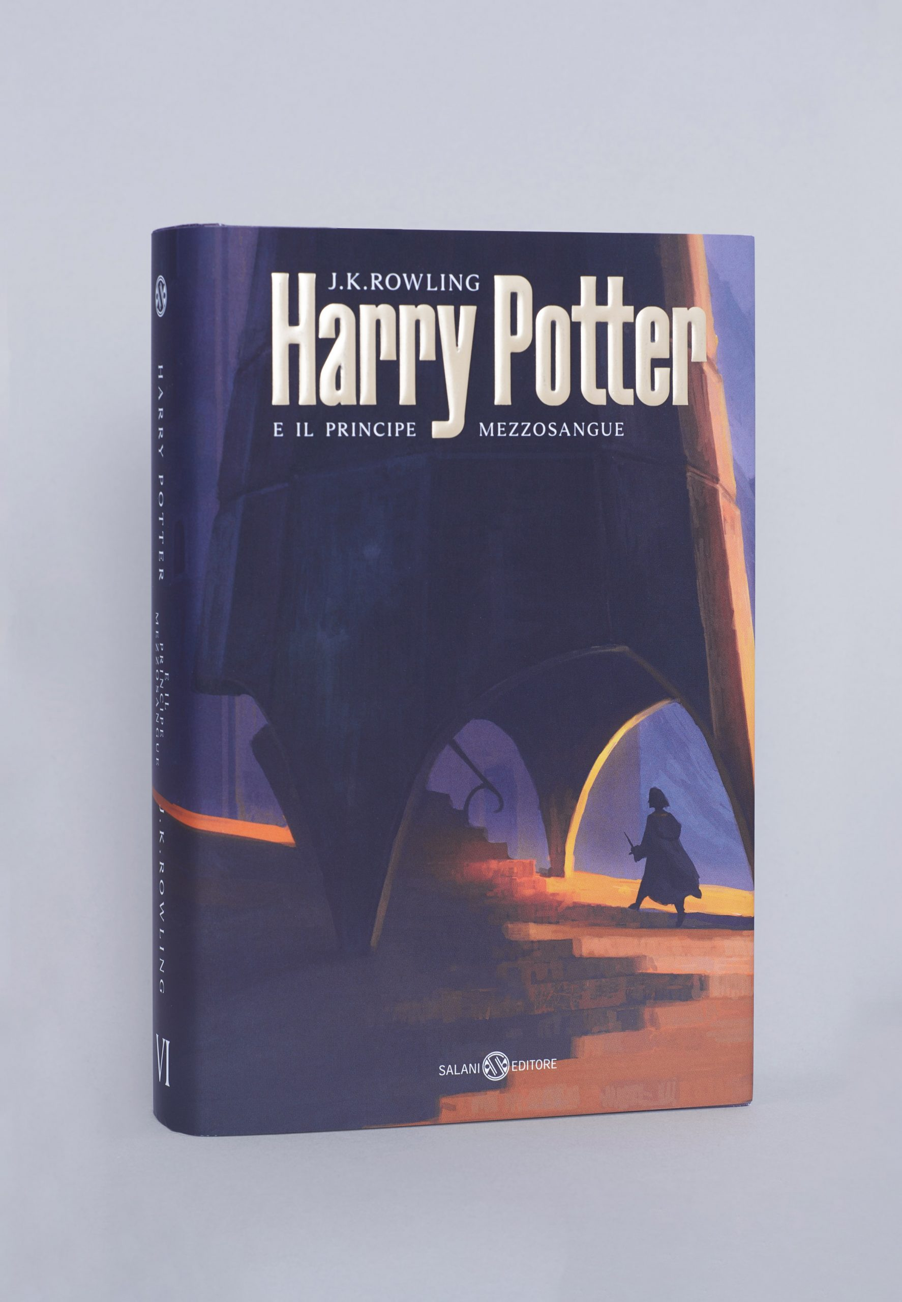 Italian cover of the Half-Blood Prince