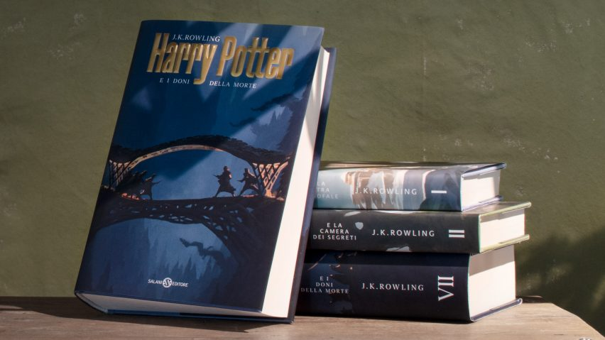Harry Potter with architecture covers