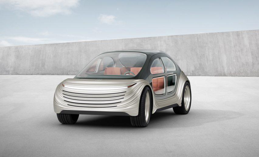 Heatherwick Studio's Airo car for IM Motors