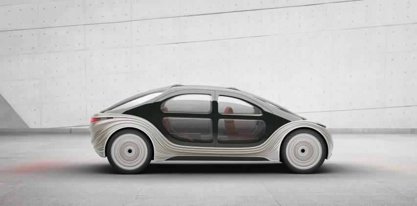 Airo electric car designed by Heatherwick Studio