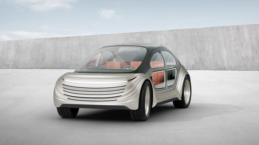Airo electric car by Heatherwick Studio