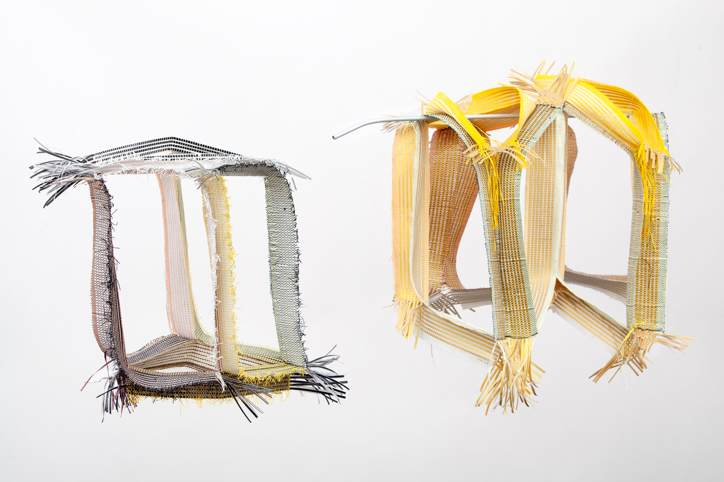 3D woven pliable architecture modules by Hella Jongerius