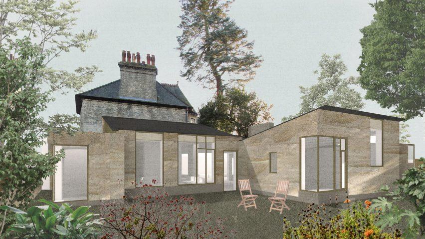 Jonathan Tuckey Design to build Hempcrete House in Cambridge