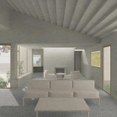 Hempcrete House in Cambridge by Jonathan Tuckey Design
