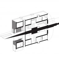 A diagram of the house