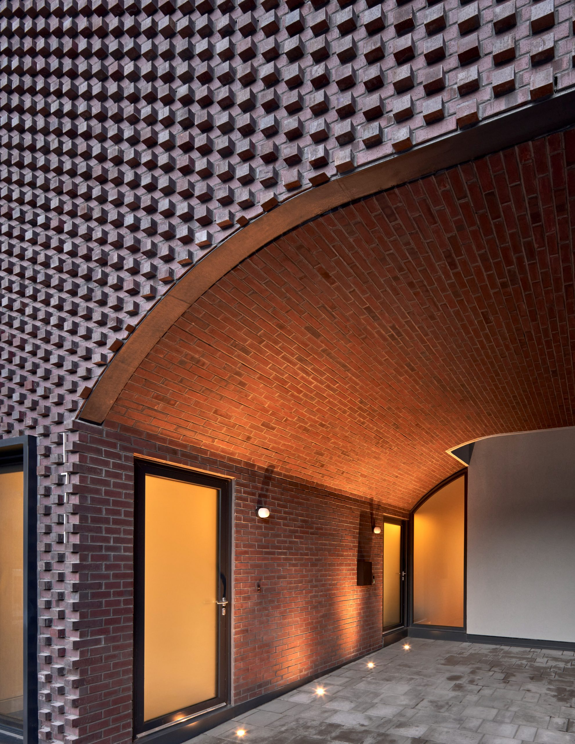 Batay-Csorba Architects played on traditional the Toronto brick facade