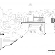 Section two of House for a Sea Dog in Genoa by Dodi Moss