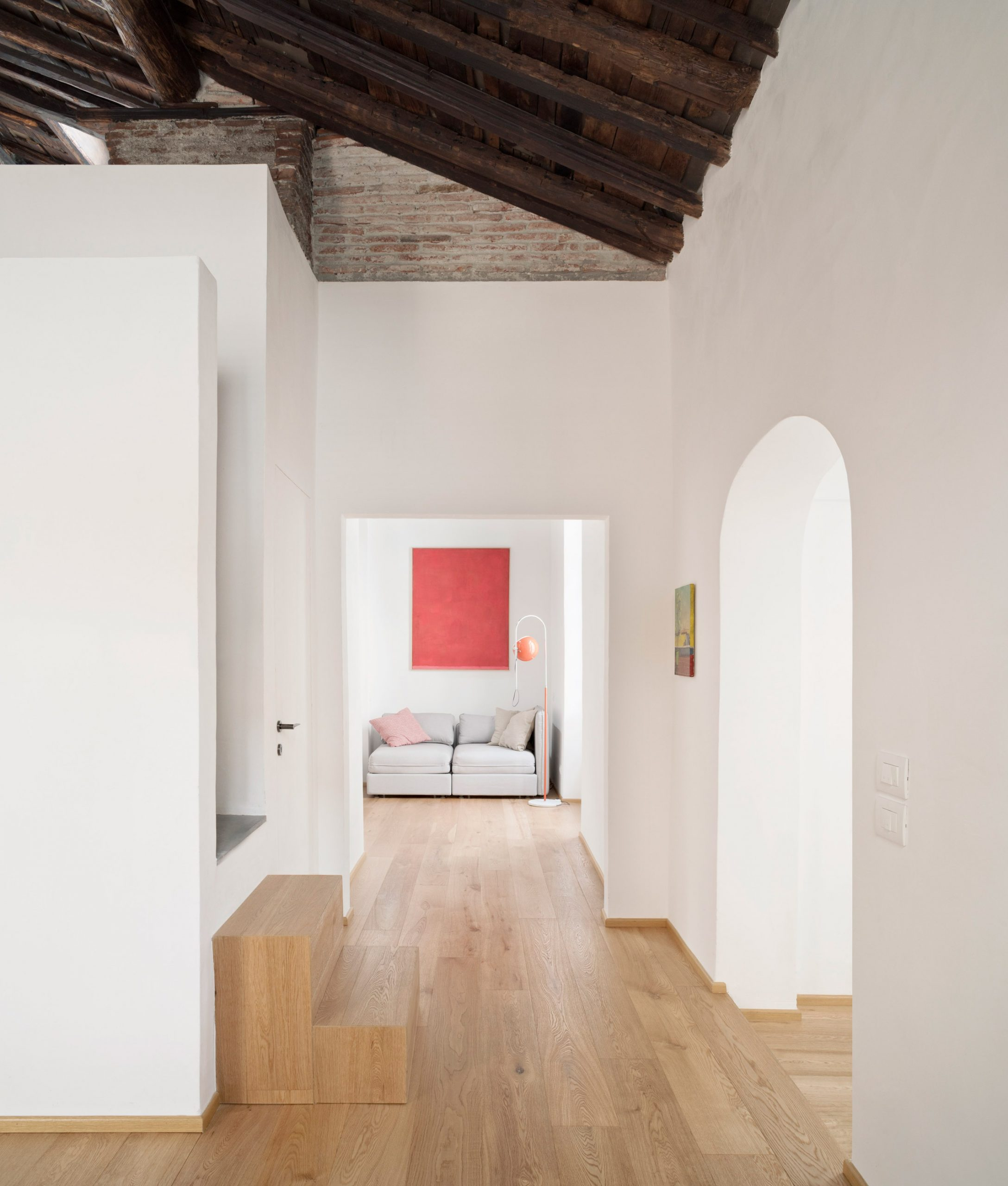Lower level of House for a Sea Dog in Genoa by Dodi Moss