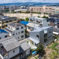 The exterior of Margin House in Japan