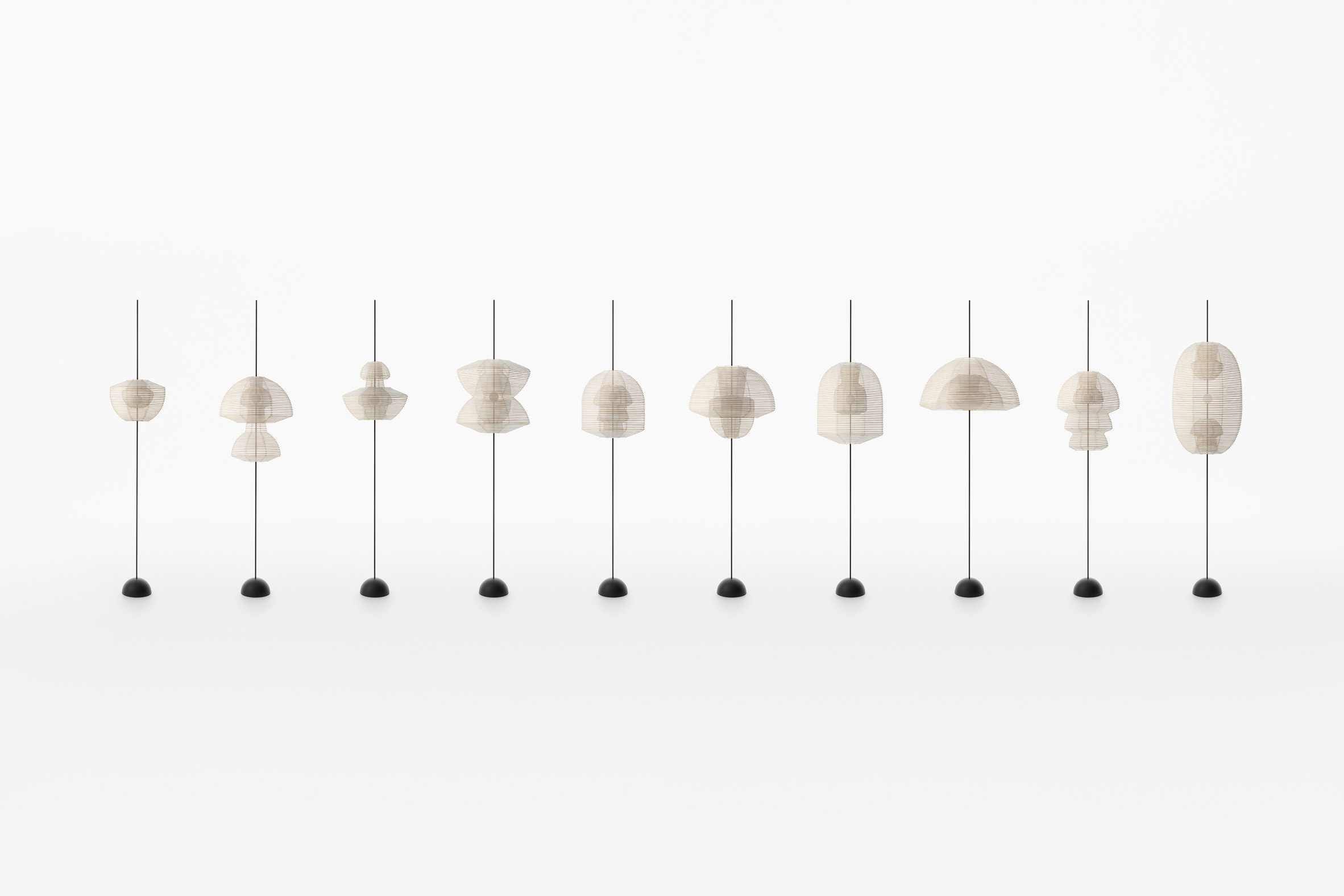 Reversible Kyoto paper lanterns