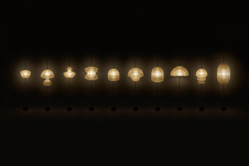 Hyouri lanterns